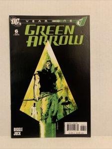 Year One Green Arrow #6