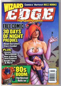 WIZARD EDGE 2002, NM-, Dawn, Joseph Linsner, 30 Days of, 30 Days of Night