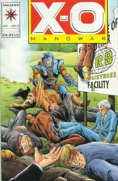 X-O Manowar (1992 series) #17, NM- (Stock photo)
