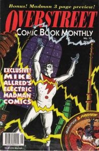 Overstreet's Comic Book Monthly #13 VF/NM; Overstreet | save on shipping - detai