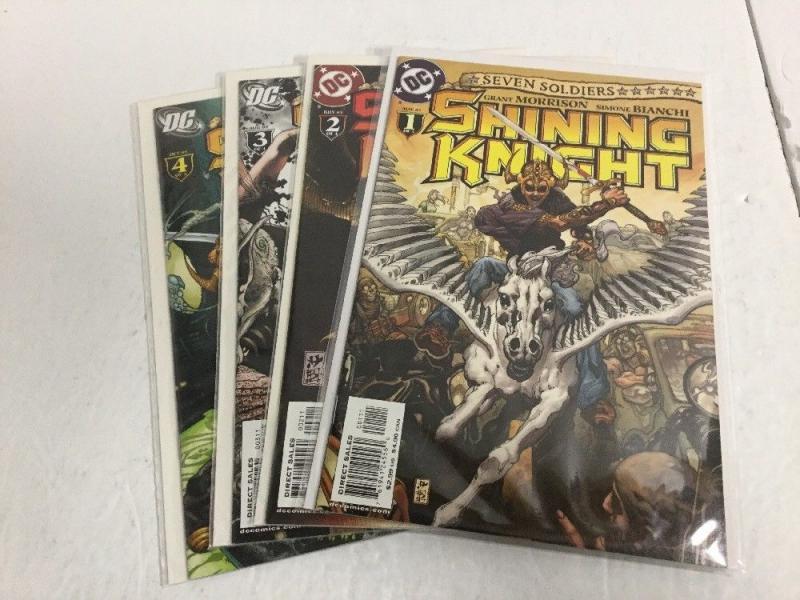Shining Knight 1-4 Lot Set Run Nm Near Mint DC Comics IK