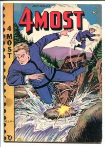4MOST COMICS V.8 #4-L.B. COLE-GOLDEN AGE VG