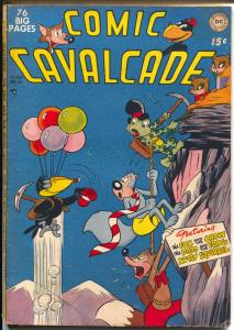 Comic Cavalcade #38 1950-DC-Fox & Crow-Nutsy Squirrel-Doso & Frog-VG-