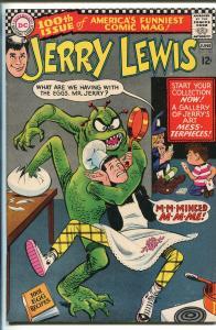 ADVENTURES OF JERRY LEWIS  #100 1967-DC-MONSTER-HORROR-BOB OKSNER-vf minus