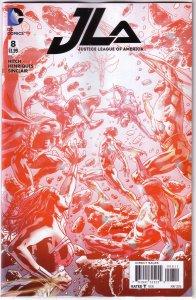 Justice League of America   vol. 4   #  8 FN