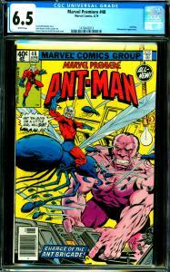 Marvel Premiere #48 CGC Graded 6.5 Ant-Man, Yellow Jacket App.
