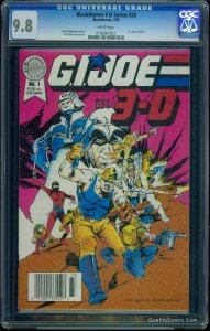 Blackthorne 3-D Series #20 CGC NM/M 9.8 White