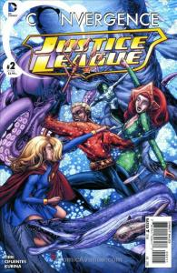 Convergence: Justice League #2 VF/NM; DC | save on shipping - details inside