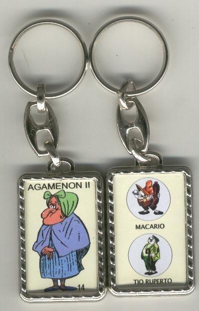 Llaveros comic español serie numero 014: Agamenon (abuelica)