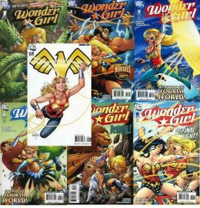 WONDER GIRL (2007) 1-6,1-Shot  COMPLETE+
