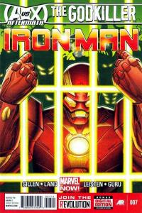 Iron Man (2013 series) #7, VF+ (Stock photo)