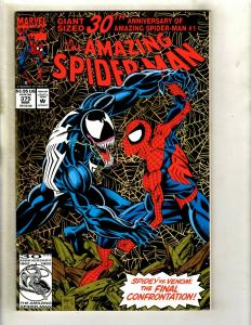 Amazing Spider-Man # 375 NM Marvel Comic Book Venom Carnage Rhino Goblin GK4