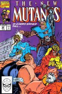 New Mutants (1983 series) #89, NM (Stock photo)