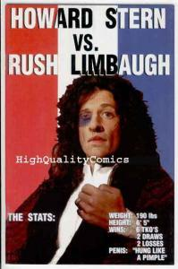 HOWARD STERN vs RUSH LIMBAUGH #1, NM+, Photo Cover, 1994