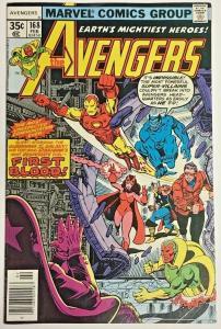 AVENGERS#168 FN/VF 1978 MARVEL BRONZE AGE COMICS