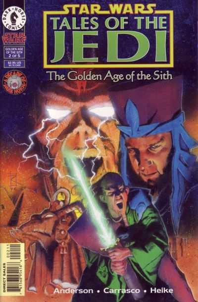Star Wars: Tales of the Jedi-The Golden Age of the Sith #2, NM (Stock photo)