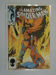 Amazing Spider-Man #261 Direct edition 7.0 FN VF (1985 1st Series)