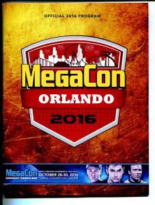 MegaCon Orlando Program Book 2016-Stan Lee-William Shatner-con info-VF