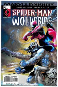 Spider-Man Wolverine #1 (Marvel, 2003) VF/NM