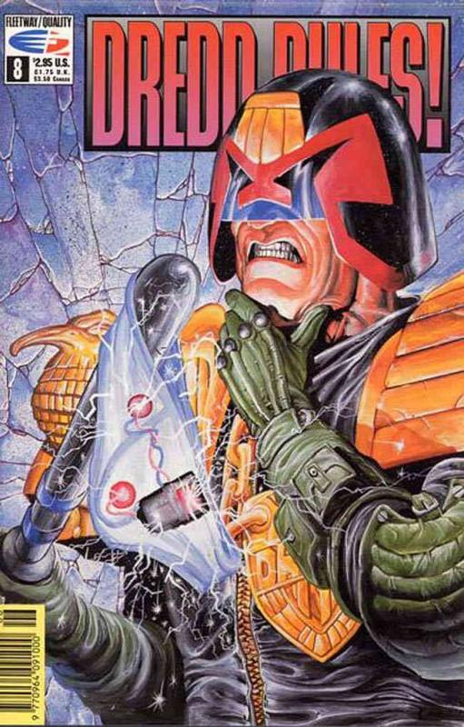 Dredd Rules! #8 VF/NM; Fleetway Quality | save on shipping - details inside