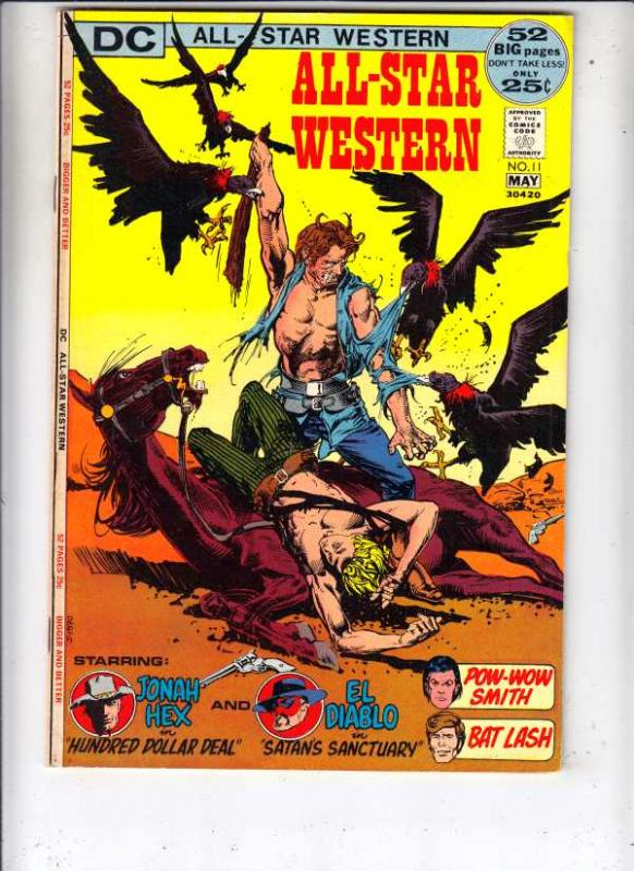 All-Star Western #11 (Apr-72) VF/NM+ High-Grade El Diablo, Outlaw, Jonah Hex,...