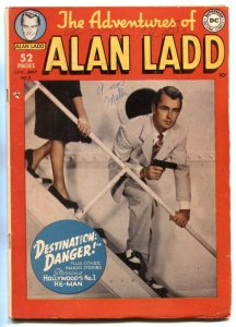 Adventures Of Alan Ladd #5 1950- DC Comics photo cover G