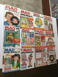 Mad Magazine Super Special 11 12 13 14 15 16 17 18 19 20 21 22 26 Fine Rn 6.0
