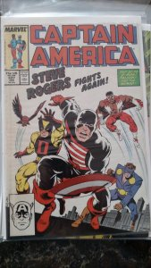 Captain America #337 (Marvel,1988) Condition NM