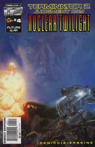 T2: Nuclear Twilight #4 VF/NM; Malibu | save on shipping - details inside