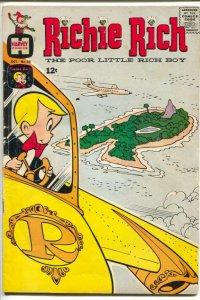 Richie Rich #38 1965-Harvey-Little Lotta-island cover-VG