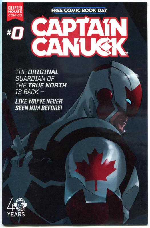 CAPTAIN CANUCK #0, NM, FCBD, Guardian, 2015, more Promo/items in store