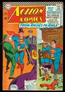 ACTION COMICS #337 1966- SUPERMAN-DC COMICS FN