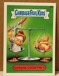 2015 Garbage Pail Kids  #23b Supreme Courtney
