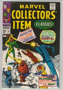 Marvel Collectors' Item #14 (Apr-68) VF/NM High-Grade Fantastic Four, Mr. Fan...