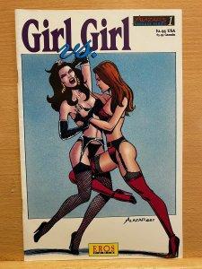 Alazar's Bondage Series #1 (1994) Girl vs Girl Eros Comix.  EXCELLENT
