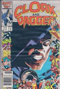 1985 Cloak and Dagger Nov #9 Marvel Comic
