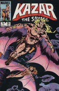 Ka-Zar the Savage #28 FN; Marvel   save on shipping - details inside