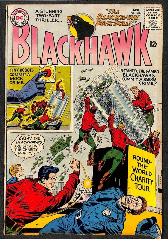 Blackhawk #207 (1965)