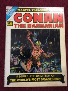 Marvel Treasury Edition Conan The Barbarian #4-1975 COMIC BOOK