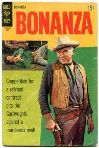 Bonanza Comics #32 1969- Gold Key TV Western VG-