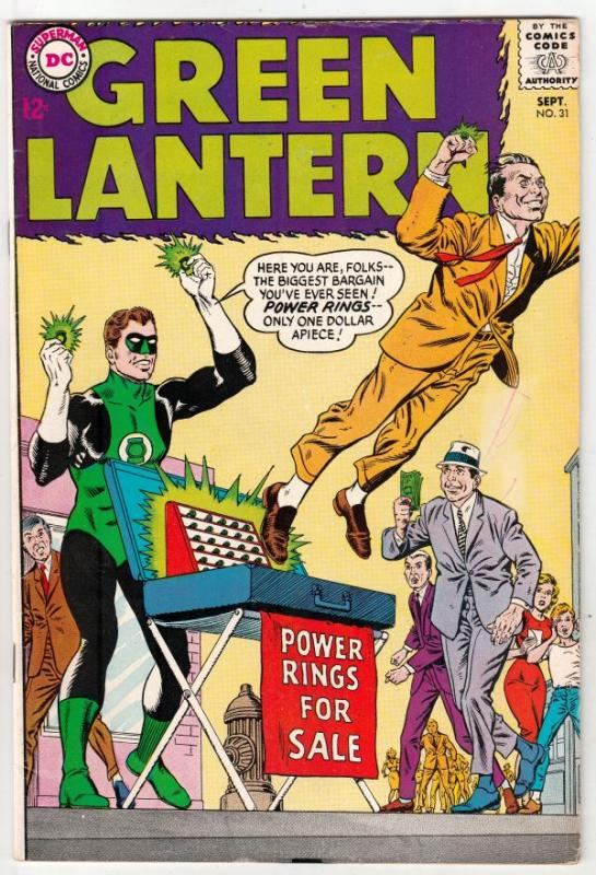 Green Lantern #31 (Sep-64) FN/VF+ Mid-High-Grade Green Lantern