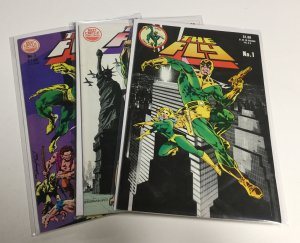 The Fly 1-3 1 2 3 Vf/Nm Very Fine/Near Mint 9.0 Red Circle Comics Group