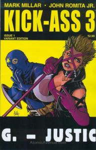 Kick-Ass 3 #1D VF/NM; Icon   save on shipping - details inside