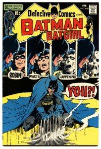 DETECTIVE COMICS #408 1971- BATMAN BATGIRL-NEAL ADAMS vf/nm