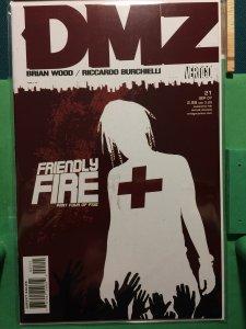 DMZ #21 Friendly Fire 4 of 5