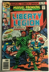 MARVEL PREMIERE#30 FN/VF 1976 LIBERTY LEGION MARVEL BRONZE AGE COMICS