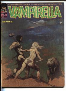 Vampirella #5 1970-Frank Frazetta cover-Nick Cuti-Don Glut-Fanucchio-FN+