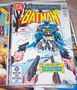 Detective Comics # 514  DC 1981 BATMAN MAXIE ZUES + SOLO BATGIRL   STORY