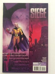 SEIGE #2 - 1st Print - Signed by Artist Olivier Coipel w/COA
