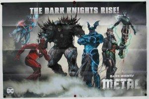 Dark Knights Rise Folded Promo Poster [P65] (36 x 24) - New!